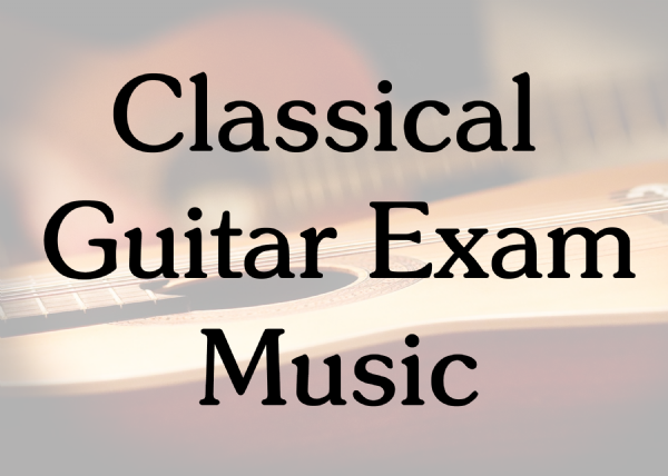 Classical Guitar Exam Books